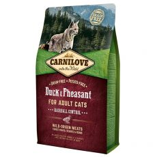 Brit CARNILOVE Duck & Pheasant Adult Cat 2 kg