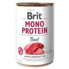 Konzerva Brit Mono Protein Beef, 400 g