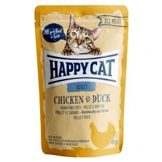 Kapsička Happy Cat ALL MEAT Adult Chicken & Duck 85 g