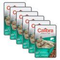 CALIBRA Cat Adult Sterilised kúsky s pečeňou v omáčke 6 x 100 g