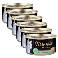 Konzerva Miamor Filet tuniak a zelenina 6 x 100 g