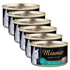 Konzerva Miamor Filet tuniak a ryža 6 x 100 g