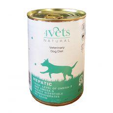 4Vets Natural Veterinary Exclusive HEPATIC 400 g