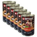 Konzerva ONTARIO Culinary Calf Ragout with Duck 6 x 400 g