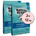 Barking Heads Fish-N-Delish Grain Free 2 x 12 kg