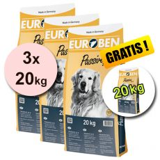 EUROBEN 22-8 Passive, 3 x 20 kg + 20 kg GRATIS