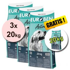EUROBEN 28-18 Active, 3 x 20 kg + 20 kg GRATIS