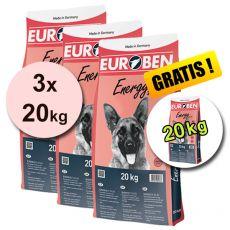 EUROBEN 31-21 Energy, 3 x 20 kg + 20 kg GRATIS
