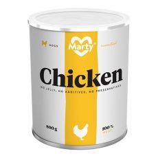 Konzerva MARTY Essential Chicken 800 g