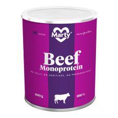 Konzerva MARTY Beef Monoprotein 800 g