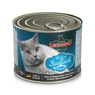 Konzerva pre mačky Leonardo - Ryba 200g