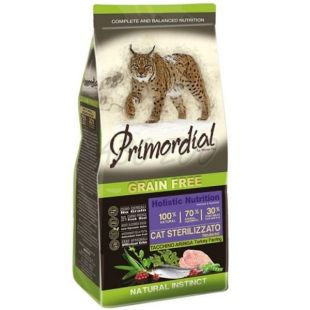 Primordial GF Cat Sterilizzato Turkey & Herring 6 kg