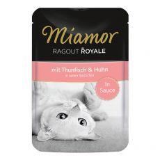 MIAMOR Ragout Royal tuniak a kura v omáčke 100 g