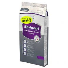 EMINENT Adult Giant Breed 15 kg + 3 kg GRATIS