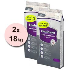 EMINENT Adult Giant Breed 2 x 18 kg