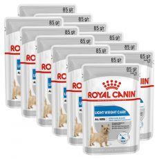 Royal Canin Light Weight Care Dog Loaf diétna kapsička s paštétou pre psy 12 x 85 g