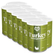 Konzerva MARTY Turkey Monoprotein 12 x 400 g