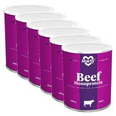 Konzerva MARTY Beef Monoprotein 6 x 800 g