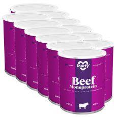 Konzerva MARTY Beef Monoprotein 12 x 800 g