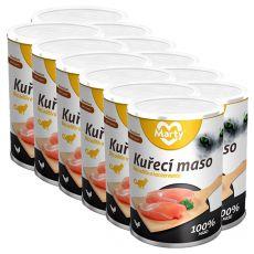 Konzerva pre mačky MARTY Premium Chicken 12 x 400 g