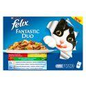 Kapsičky Felix Fantastic Duo, lahodný výber so zeleninou v želé 400 g