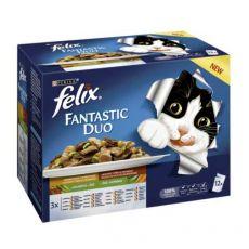 Kapsičky Felix Fantastic Duo, lahodný výber so zeleninou v želé 12 x 100 g