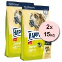 Happy Dog Junior Giant Lamb & Rice 2 x 15 kg