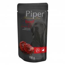 Kapsička Piper Platinum Pure hovädzie a hnedá ryža 150 g