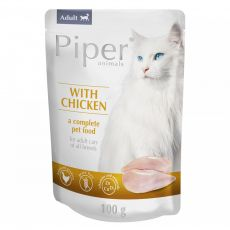 Kapsička Piper Cat Adult s kuracím mäsom 100 g