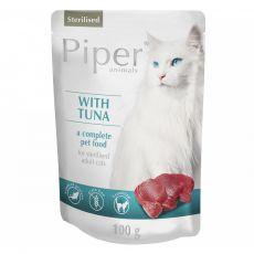 Kapsička Piper Cat Sterilised s tuniakom 100 g