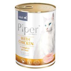 Konzerva Piper Cat Adult s kuracím mäsom 400 g