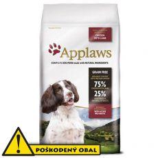 Applaws Dog Adult Small & Medium Breed Chicken & Lamb 7,5kg - POŠKODENÝ OBAL