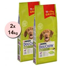 PURINA DOG CHOW ADULT Lamb 2 x 14 kg