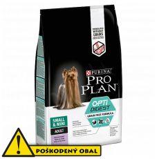 Purina Pro Plan Small & Mini Adult OptiDigest Grain Free Turkey 6,5 kg - POŠKODENÝ OBAL
