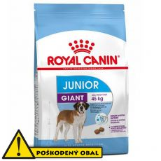Royal Canin Giant Junior granule pre obrie šteňatá 15 kg - POŠKODENÝ OBAL