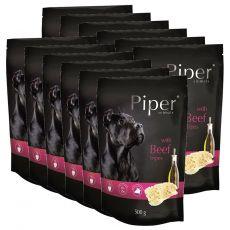 Kapsička Piper Adult s hovädzími držkami 12 x 500 g