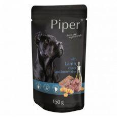 Kapsička Piper Adult s jahňacinou, mrkvou a hnedou ryžou 150 g