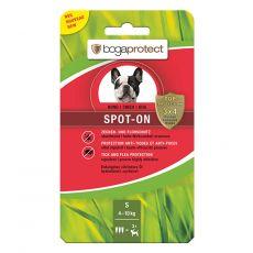Antiparazitné kvapky pre psy BOGAPROTECT Spot-On S 3 x 1,2 ml