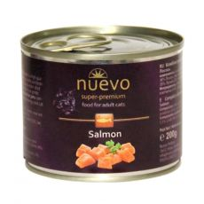 Konzerva NUEVO CAT Adult Salmon 200 g