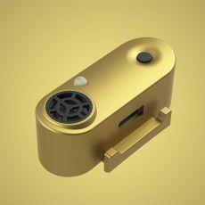 TICKLESS MINI nabíjateľný ultrazvukový repelent pre malé psy - zlatý