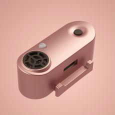 TICKLESS MINI nabíjateľný ultrazvukový repelent pre malé psy - ružovo zlatý