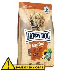 Happy Dog NaturCroq RIND a REIS 15 kg - POŠKODENÝ OBAL