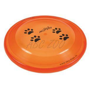 Lietajúci tanier pre psov - plastový, 23cm