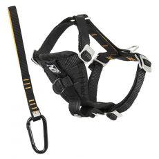 Bezpečnostný postroj Kurgo Tru-Fit Smart Harness, čierny XS