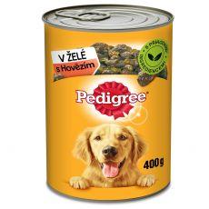 Pedigree konzerva s hovädzím v želé 400g