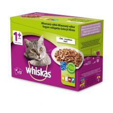 Whiskas kapsička Mixovaný výber v šťave 12 x 100g
