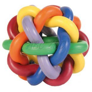 Gumová lopta pre psov - prepletaná 10cm