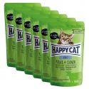 Kapsička Happy Cat ALL MEAT Adult Veal & Lamb 6 x 85 g
