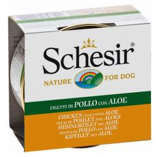 Schesir dog kuracie a aloe v želé 150 g