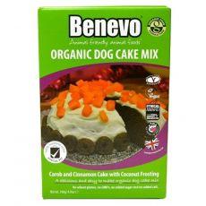 Benevo BIO karobovo škoricový psí koláč 140 g